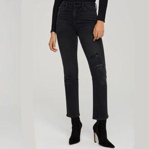 "NEW Good American ""Good Classic"" Jeans Black206"
